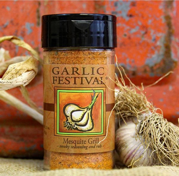 Garlic Festival Mesquite Grill Seasoning