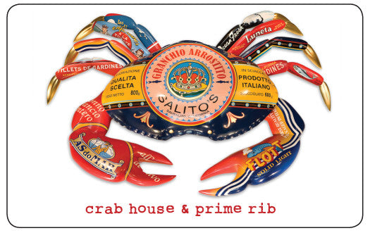 Salito's Crab House & Prime Rib Gift Card - The Stinking Rose