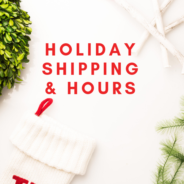 2018 Holiday Shipping Guide