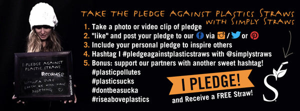 Have you taken the 2016 Pledge Against Plastic Straws?