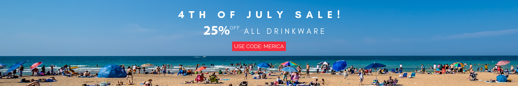 25% off 4th of July