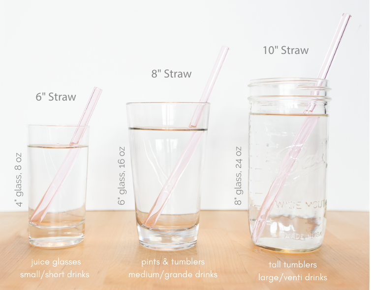 Straw Sizes by Length