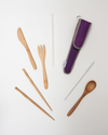REUSABLE UTENSIL KIT - classic glass straw