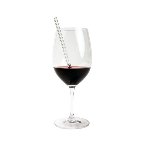 SKINNY SINGLE GLASS STRAW - COFFEE, TEA, WINE, COCKTAILS - Simply Straws