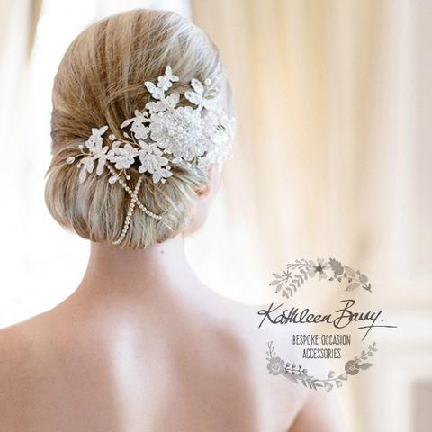 Floral / Lace hairpieces & decorative combs