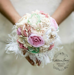 Heirloom Bouquets, Boutonnieres & Corsage Brooches