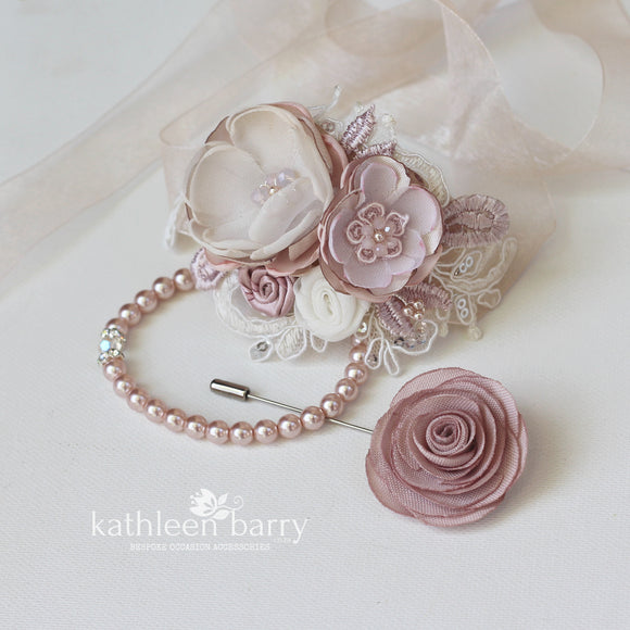 Wrist corsage Matric dance - Prom - Bridesmaids Mothers
