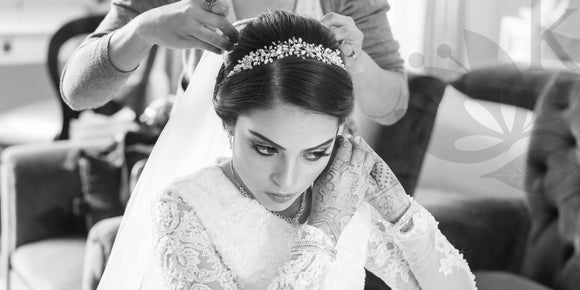 the best custom order wedding hair accessories and jewelry