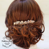 Caryn simple leaf hairpiece - colors available