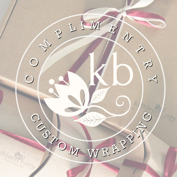 FREE Custom wrapping or personalization service
