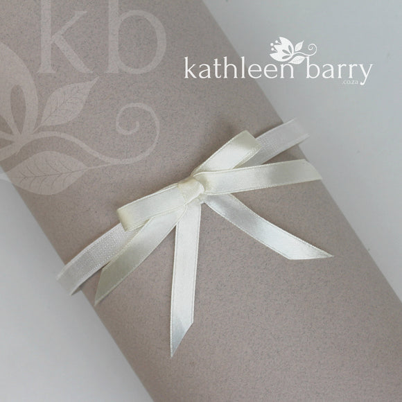 Bridal tossing garter - assorted colors available, satin bow Sold individually