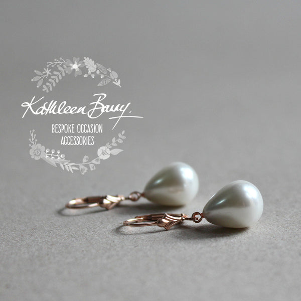 Earrings bridal wedding pearl crystal Earrings south africa online ...