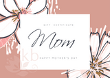 Gift certificate mothers day gifts online shop voucher jewellery ideas