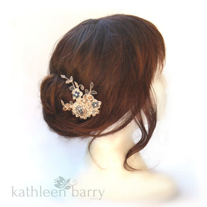 Maggie Lace embellished Hair Clip - Color Options Available
