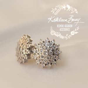 Megan Cubic Zirconia Parve set stud earrings - Limited stock available