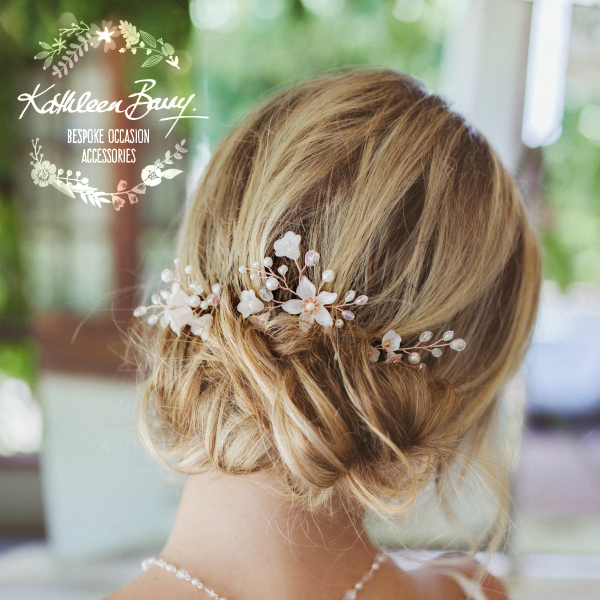 styles of hair bridal flower hair pins mix amp match gold gold or 2550 | Monique wedding hair pins rose gold kathleen barry 1200x1200