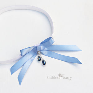 Nitsa bridal garter - assorted colors available - tossing garter