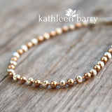 Stefania bracelet - Sterling silver with Rose gold plated detail - Limited stock available