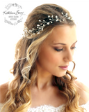 Shannon Bridal Hair Vine Wreath Crown