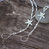 Custom order for Suzan - Starfish Barefoot Jewellery Sandals for Brides and bridal party - style 008 - (Pair)