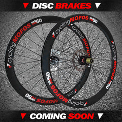 cyclingMOFOS Disc Brake Road & CX Wheels Coming Soon