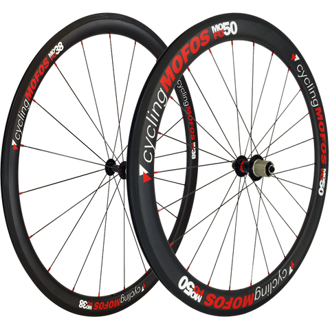 MOFO 38-50mm Carbon Clincher (Wheel Set) - 25mm wide