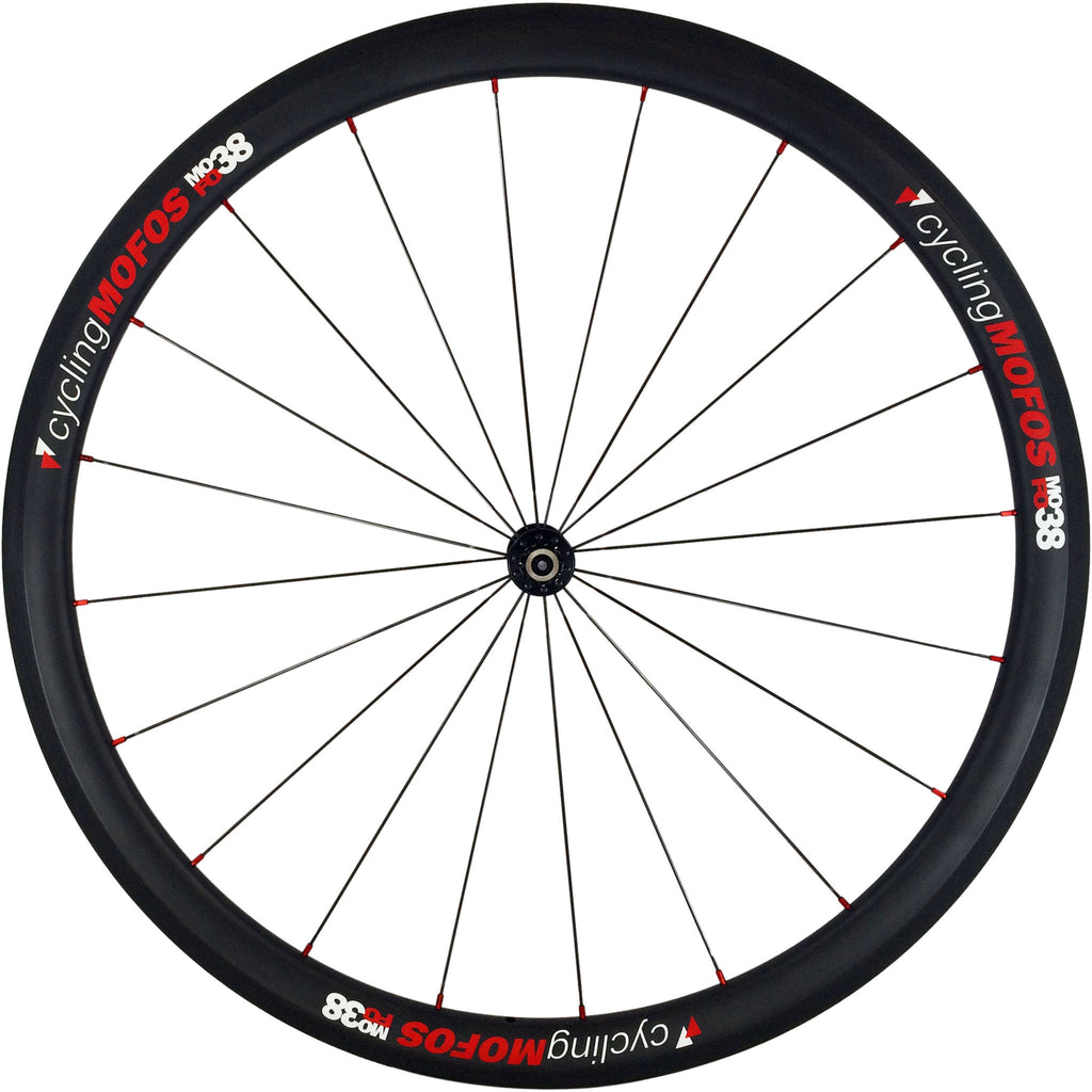 MOFO 38mm Carbon Clincher (Front Wheel) - 23mm wide