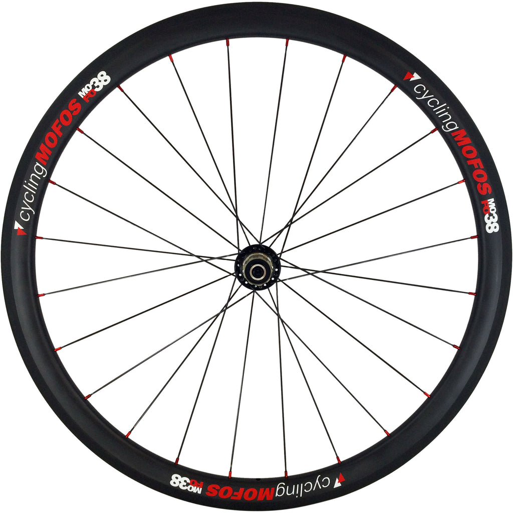 MOFO 38mm Carbon Clincher (Rear Wheel) - 25mm wide