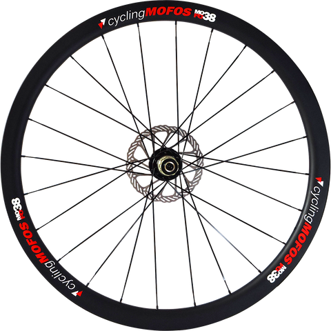 MOFO 38mm Carbon Clincher (Disc Brake Front Wheel)