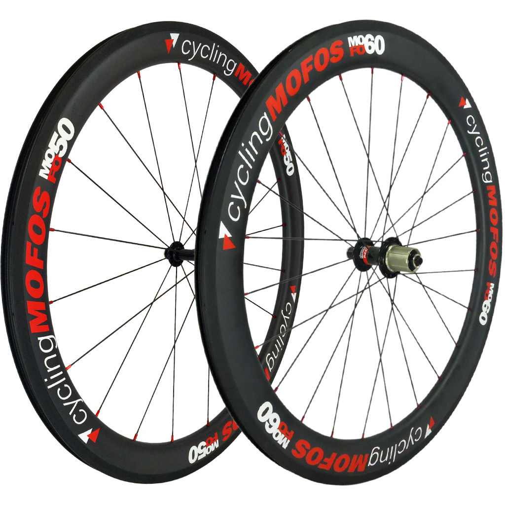 MOFO 50-60mm Carbon Clincher (Wheel Set) - 25mm wide