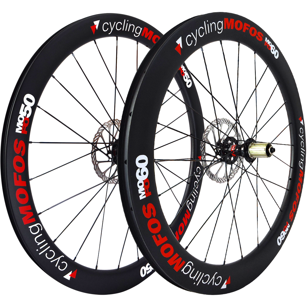MOFO 50-60mm Carbon Clincher (Disc Brake Wheel Set)