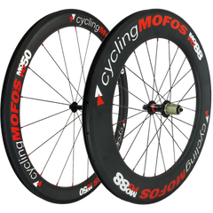 MOFO 50-88mm Carbon Clincher (Wheel Set) - 25mm wide
