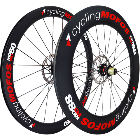 MOFO 50-88mm Carbon Clincher (Disc Brake Wheel Set)
