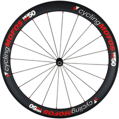 MOFO 50mm Carbon Clincher (Front Wheel) - 23mm wide