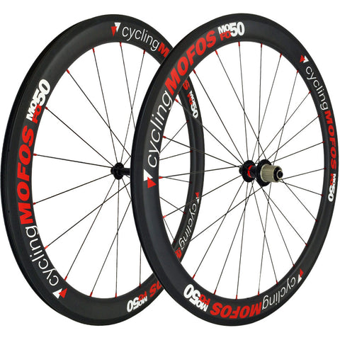MOFO 50mm Carbon Clincher (Wheel Set) - 23mm wide