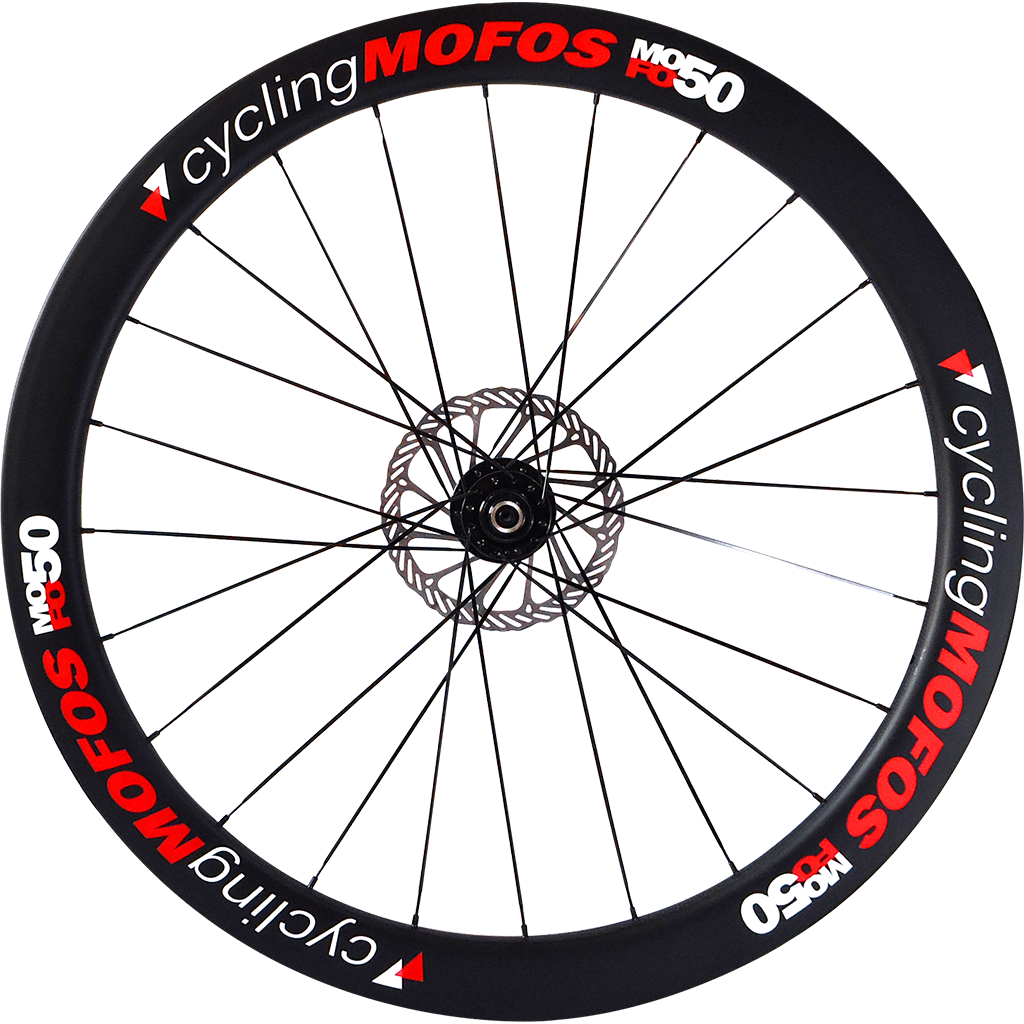 MOFO 50mm Carbon Clincher (Disc Brake Front Wheel)