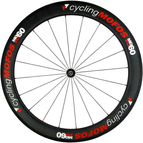 MOFO 60mm Carbon Clincher (Front Wheel) - 23mm wide