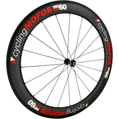 MOFO 60mm Carbon Clincher (Front Wheel) - 25mm wide