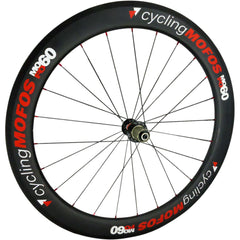 MOFO 60mm Carbon Clincher (Rear Wheel) - 23mm wide