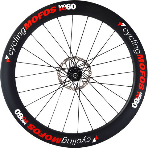 MOFO 60mm Carbon Clincher (Disc Brake Front Wheel)