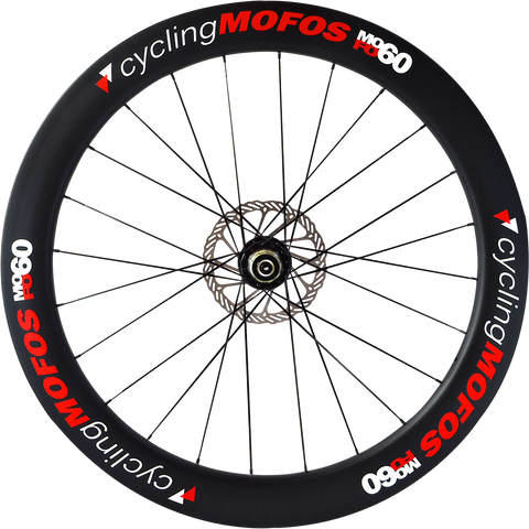 MOFO 60mm Carbon Clincher (Disc Brake Rear Wheel)