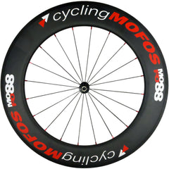 MOFO 88mm Carbon Clincher (Front Wheel) - 25mm wide