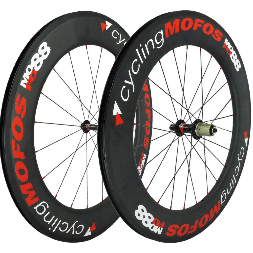 MOFO 88mm Carbon Clincher (Wheel Set) - 23mm wide