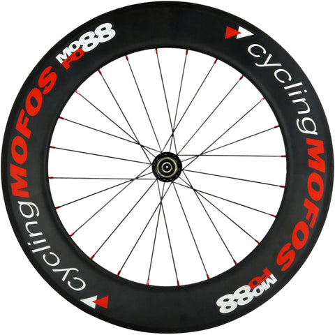 MOFO 88mm Carbon Clincher (Rear Wheel) - 25mm wide