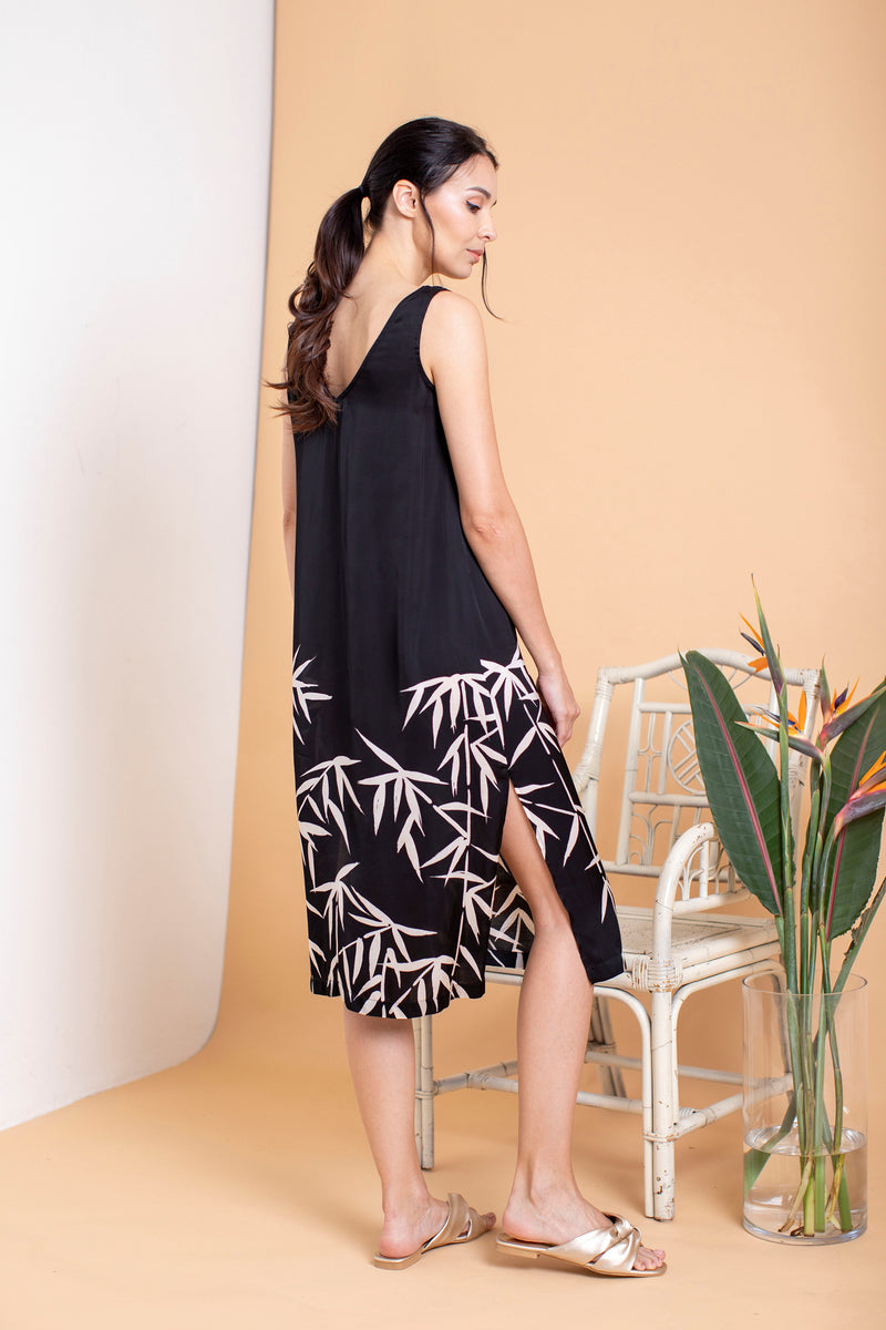 Willowy Bamboo Midi Dress