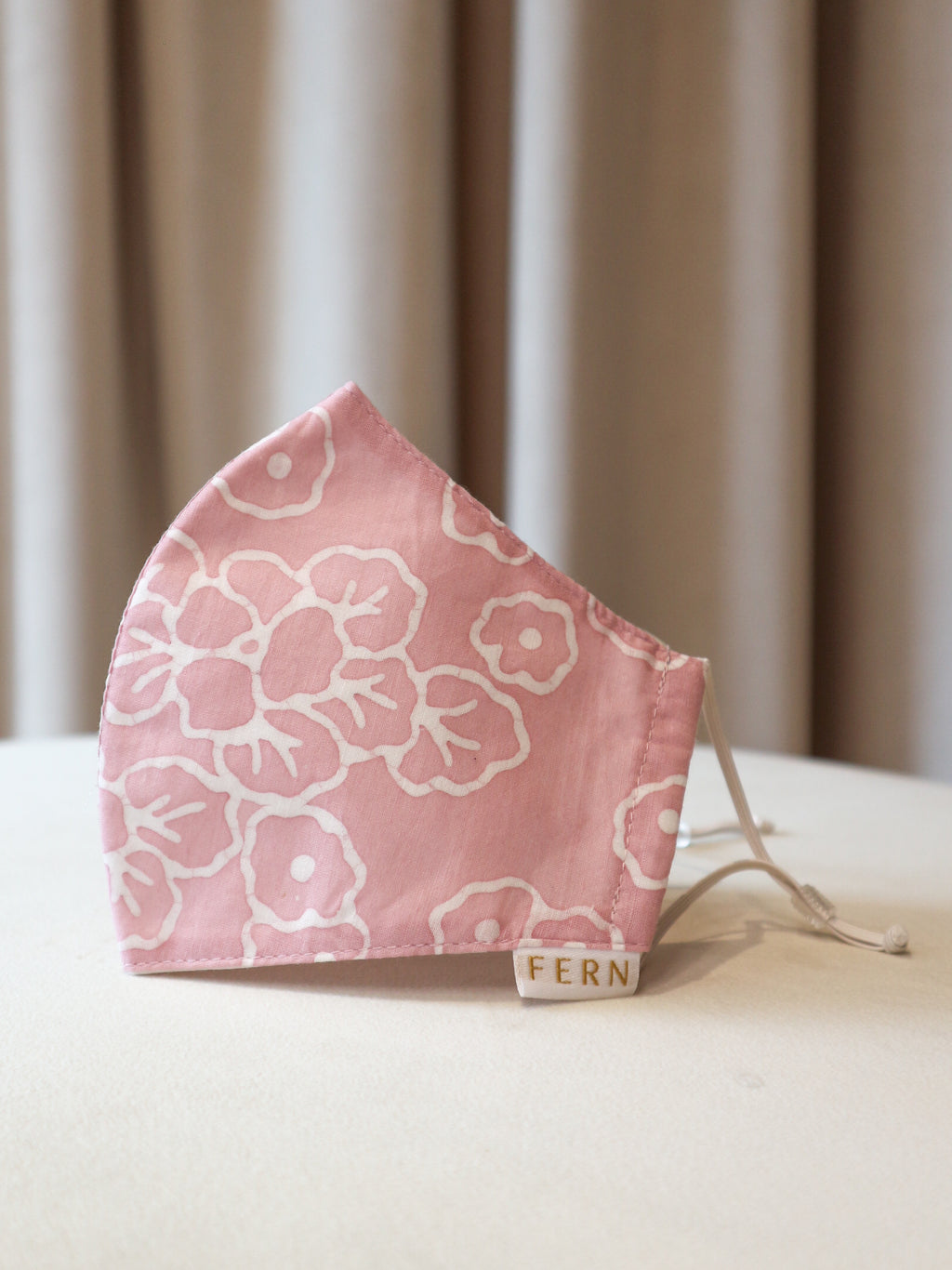 Face Mask - Sakura Block Pink - FERN