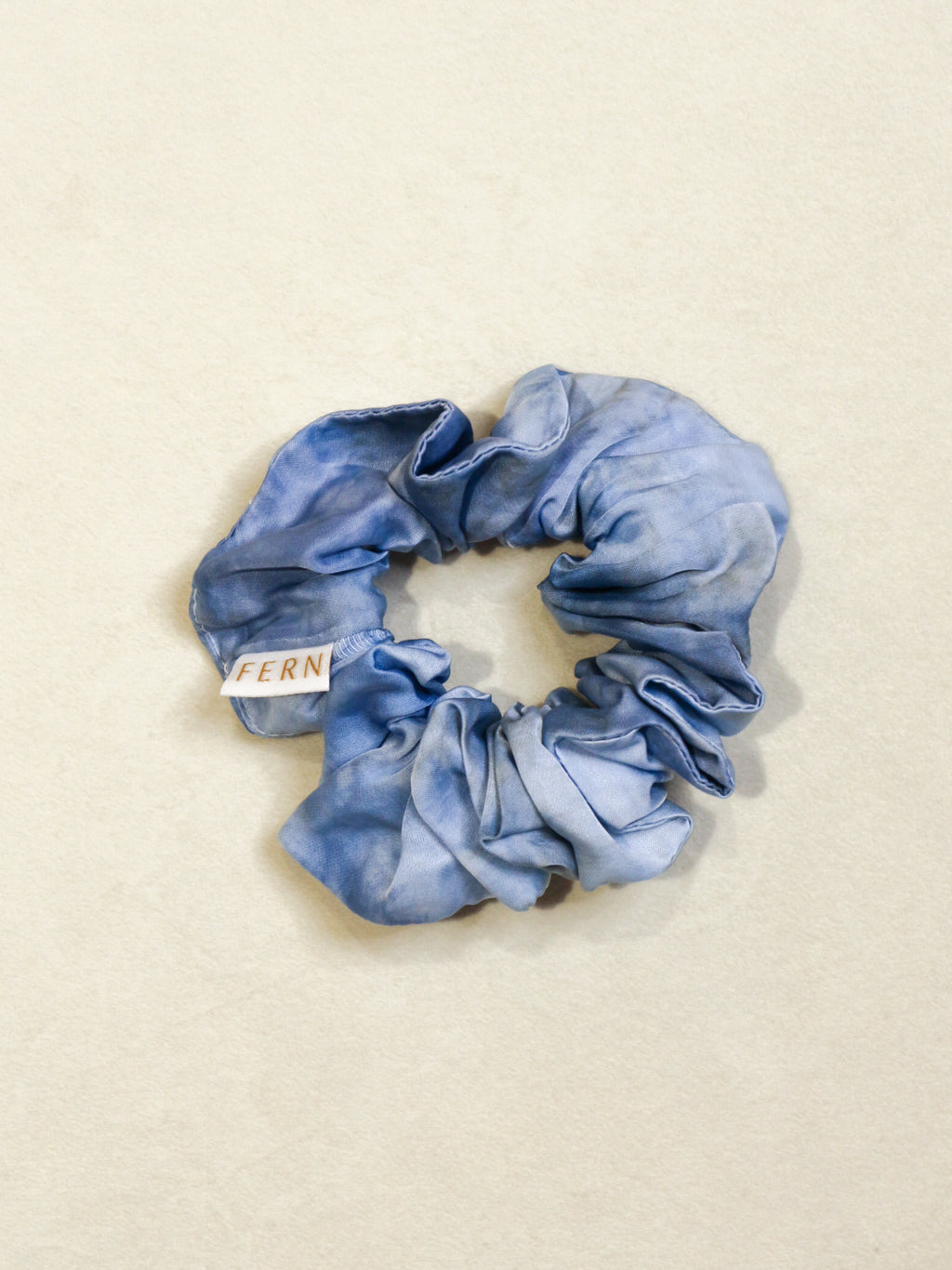 Cotton Silk Srunchie Duo - Blue - FERN