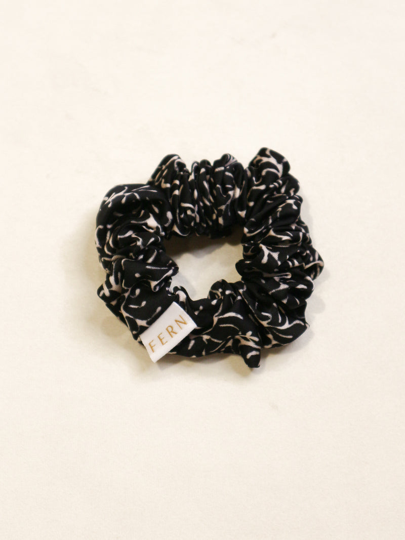 Cotton Silk Srunchie Duo - Monotone - FERN