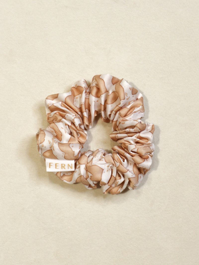 Cotton Silk Srunchie Duo - Neutrals - FERN