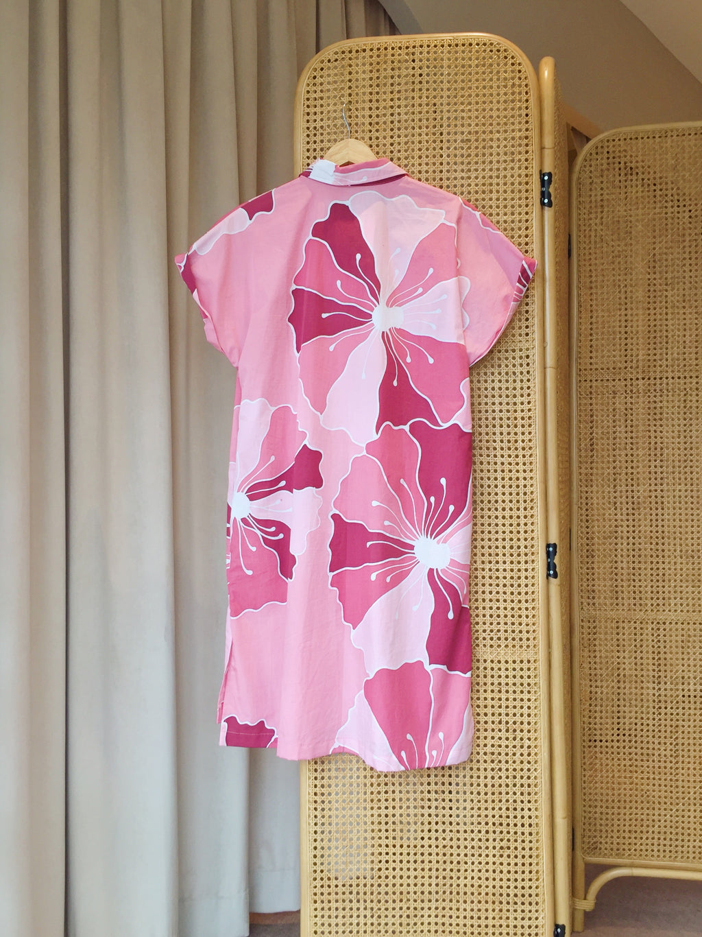 Sakura Boxy Dress - FERN